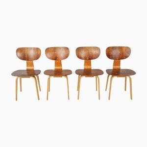 Chaises de Salle à Manger Modèle SB13 Vintage par Cees Braakman pour Pastoe, Set de 4