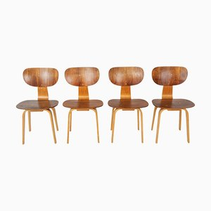 Vintage Model SB13 Dining Chairs by Cees Braakman for Pastoe, Set of 4