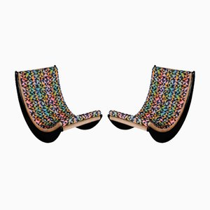 Relaxer Rocking Chairs by Verner Panton for Rosenthal, Set of 2