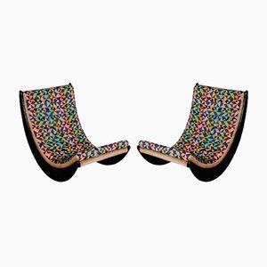 Rocking Chairs Relaxer par Verner Panton pour Rosenthal, Set de 2