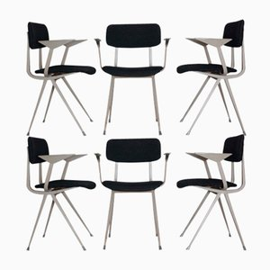 Vintage Result Chairs by Friso Kramer for Ahrend, Set of 6
