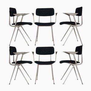 Vintage Result Chairs von Friso Kramer für Ahrend, 6er Set