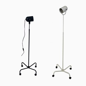 Postmodern Panto Beam Floor Lamps by Verner Panton, 1990s, Set of 2