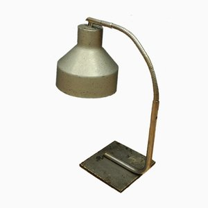 Lampada da tavolo vintage industriale