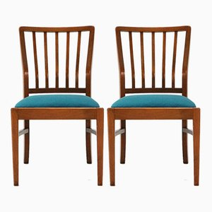 Akerblom Chairs from Habeo, 1950s, Set of 2