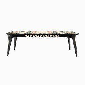 Tavolo quadrato Xo a otto posti di ESTEMPORANEO