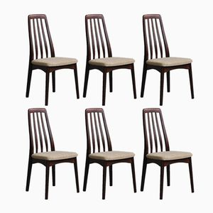 Rosewood Dining Chairs from Svegards Markaryd, 1960s, Set of 6