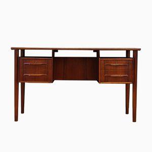 Vintage Schreibtisch aus Teak