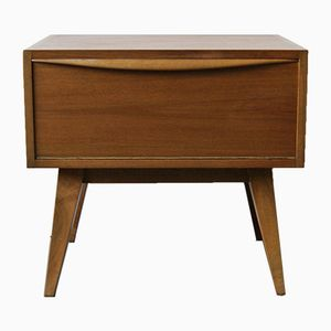 Teak Bedside Table, 1960s