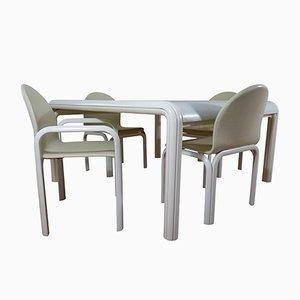 Mobilier de Salle à Manger Orsay par Gae Aulenti pour Knoll International, Italie, 1960s, Table et 4 Chaises