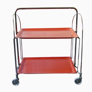 Folding Red Trolley, 1960s