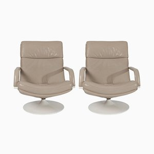 F156 Easy Chairs by Geoffrey Harcourt for Artifort, 1963, Set of 2