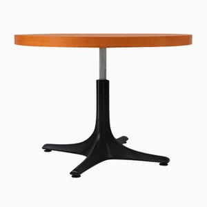 Vintage Adjustable Wood & Plastic Table from Ilse Möbel