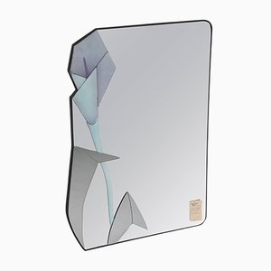 Asymmetric Wall Mirror by David Marshall, 1990
