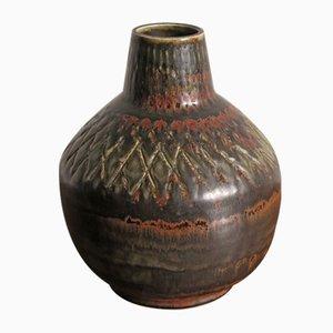 Jarrón sueco de cerámica de Rörstrand, años 50