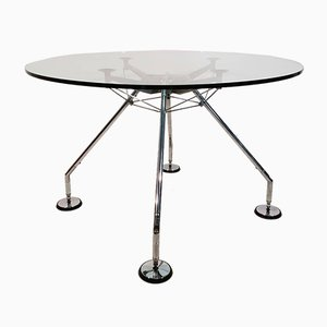 Vintage Round Table by Norman Foster for Tecno