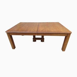 Oak Extending Table, 1930s