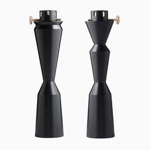 REeREGINA Oil Lamps by Millim Studio for Offiseria, Set of 2