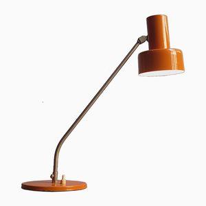 Lampada da scrivania Mid-Century arancione