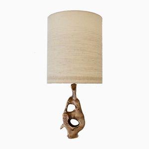 Lampada da tavolo scultorea di Michel Jaubert, anni '70