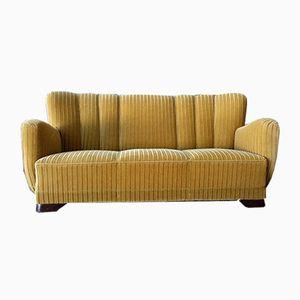 Dänisches Vintage 3-Sitzer Sofa, 1940er