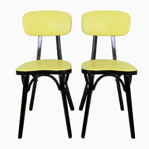 Vintage Bistro Chairs by Joamin Baumann, 1960s, Set of 2