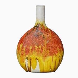 Moderne italienische Vase von Marcello Fantoni, 1960er