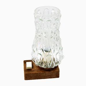 Lámpara de mesita de noche alemana de ME Leuchten, años 70