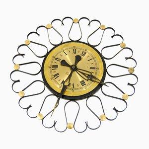 Horloge Murale Mécanique, Allemagne, 1970s
