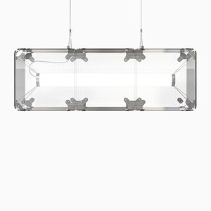 Hyperqube 3-Module Glass Pendant Lamp with Dimmable LED from Felix Monza