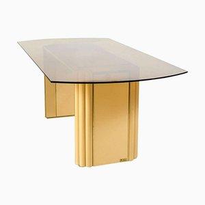 Tavolo da pranzo vintage di Alain Delon per Maison Jansen, Francia