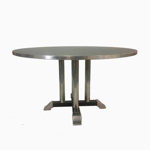 Mesa de comedor AO industrial vintage de C.H. Hoffmann para Gispen
