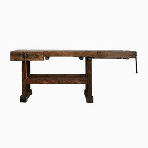 Antique Carpenter's Workbench, 1900s