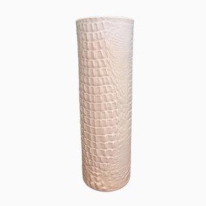 Vase Snake Op Art Bisque en Porcelaine par Manfred Frey pour Kaiser-Porzellan, 1960s