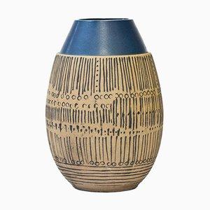 Vaso da terra serie Granada in ceramica di Lisa Larson per Gustavsberg, anni '60