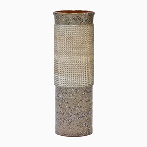 Tall Stoneware Floor Vase by Thomas Hellström for Nittsjö, 1960s
