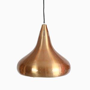 Lampe à Suspension Drop en Cuivre, 1960s