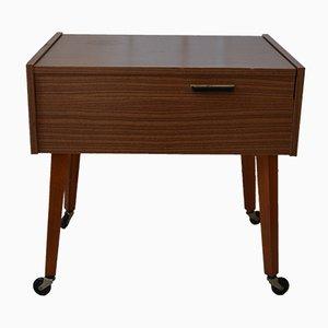 Mesa de costura o auxiliar vintage, años 70