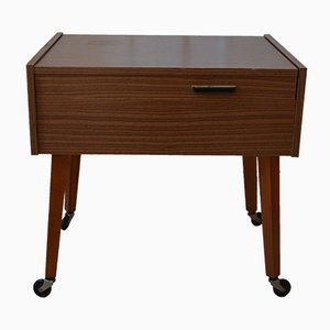 Vintage Sewing Box or Side table, 1970s