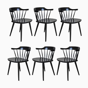 FH01 Dining Chairs by Yngve Ekström for Pastoe, 1950s, Set of 6