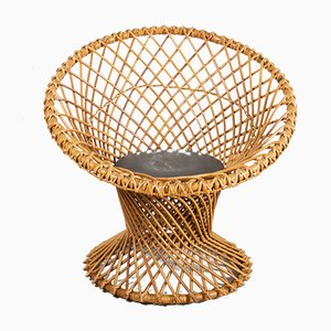 Wicker Chair by Dirk Van Sliedrecht, 1960s