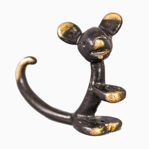 Penholder Mouse Figurine by Walter Bosse for Herta Baller, 1950s