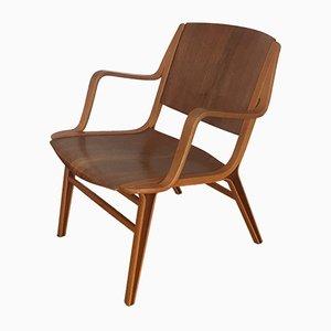 Ax Chair von Peter Hvidt & Orla Molgaard Nielsen für Fritz Hansen, 1950er