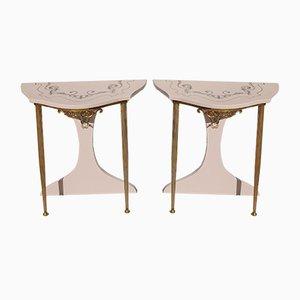 Tables de Chevet, Italie, 1970s, Set de 2