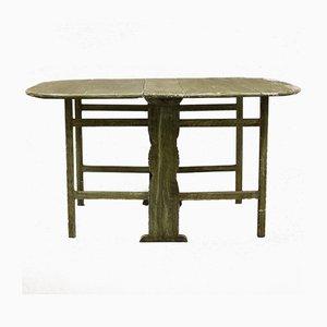 Mesa plegable sueca antigua