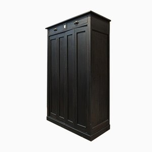 Antique Massive Oak Wardrobe