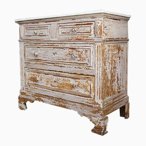 Antique French Wooden Dresser