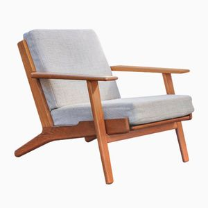 Model GE 290 Lounge Chair by Hans J. Wegner for Getama, 1960s