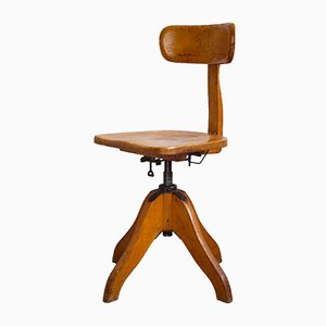 Federdreh Revolving Office Chair by Albert Stoll, 1930s