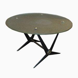 Table Industrielle Mid-Century, 1950s